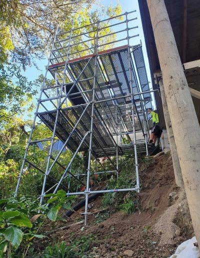 Birdcage scaffold