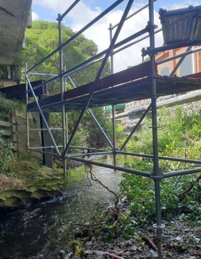 All Area Scaffolding - Kaiwharawhara Bridge