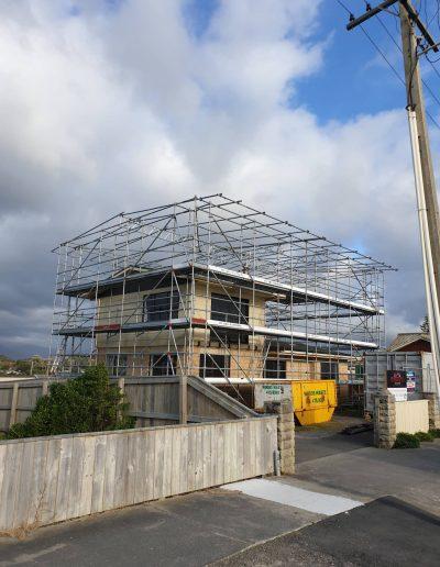 All Area Scaffolding - Shrink wrap scaffold 1