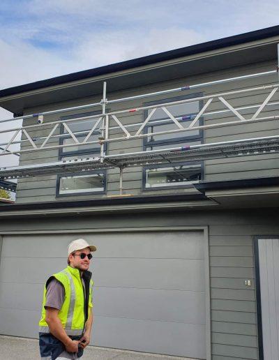All Area Scaffolding - house scaffold